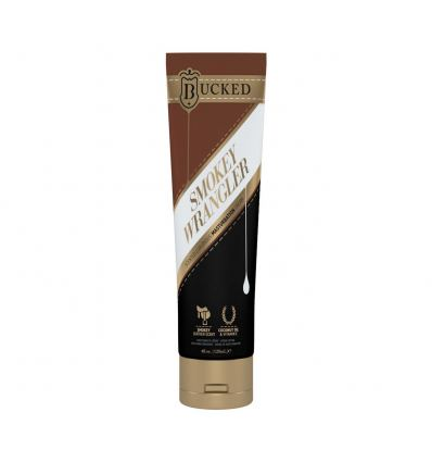 Krém na masturbáciu BUCKED SMOKEY WRANGLER MASTURBATION CREAM LEATHER SCENT 120 ML