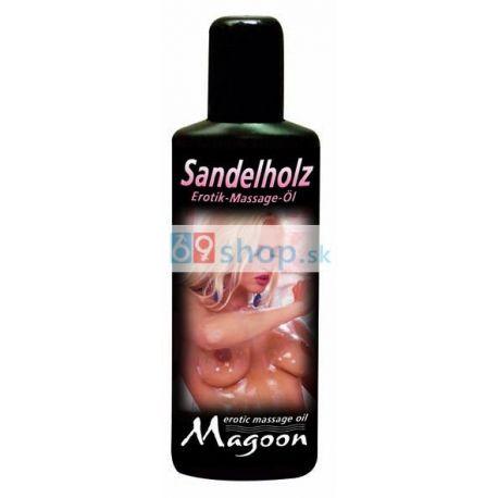 Santalové Drevo masážny olej