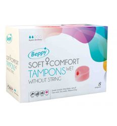 ASHA Beppy SoftComfortTampons 8er wet