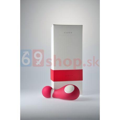 Vibračný stimulátor pre ženy ružový