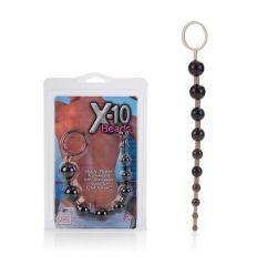 Análne guličky X-10 Beads čierna